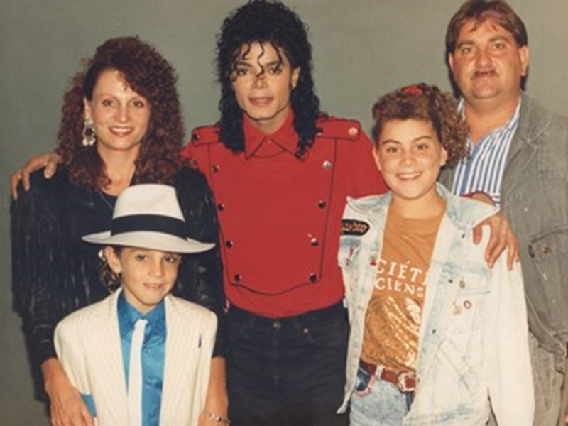 Behind LEAVING NEVERLAND